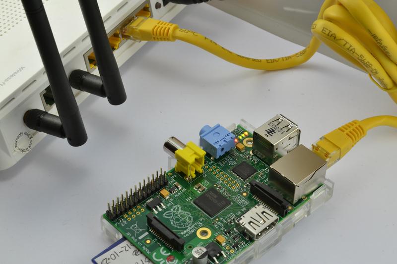 Conexión a router de Raspbeery Pi