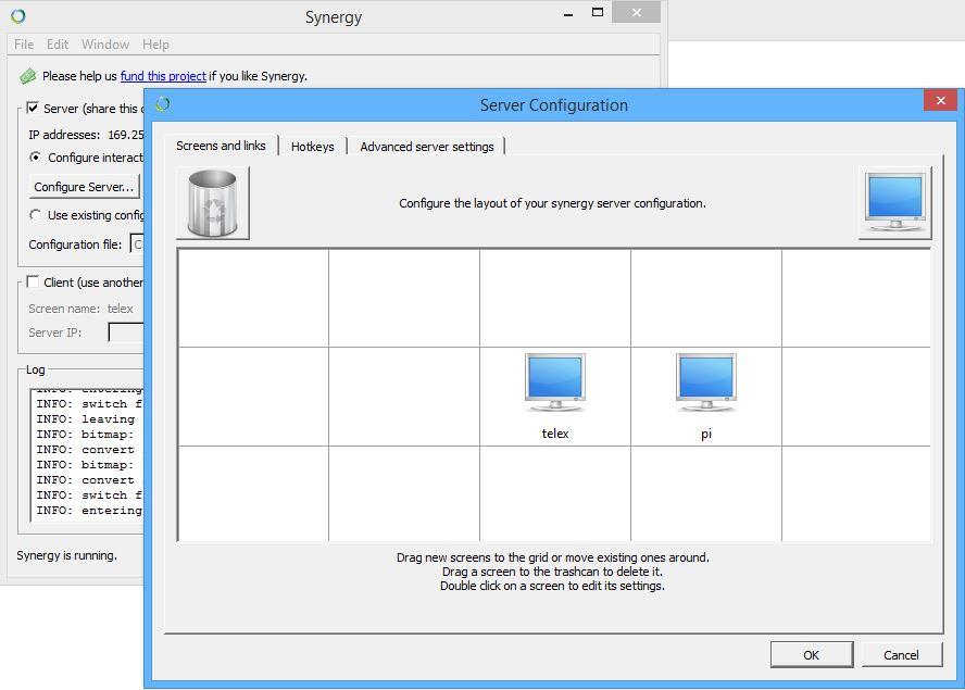 Synergy en Windows