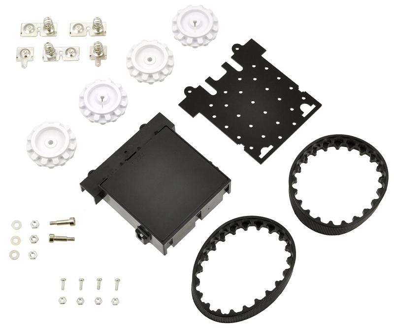 Kit Chasis Robot Sumo - Sin motores 02