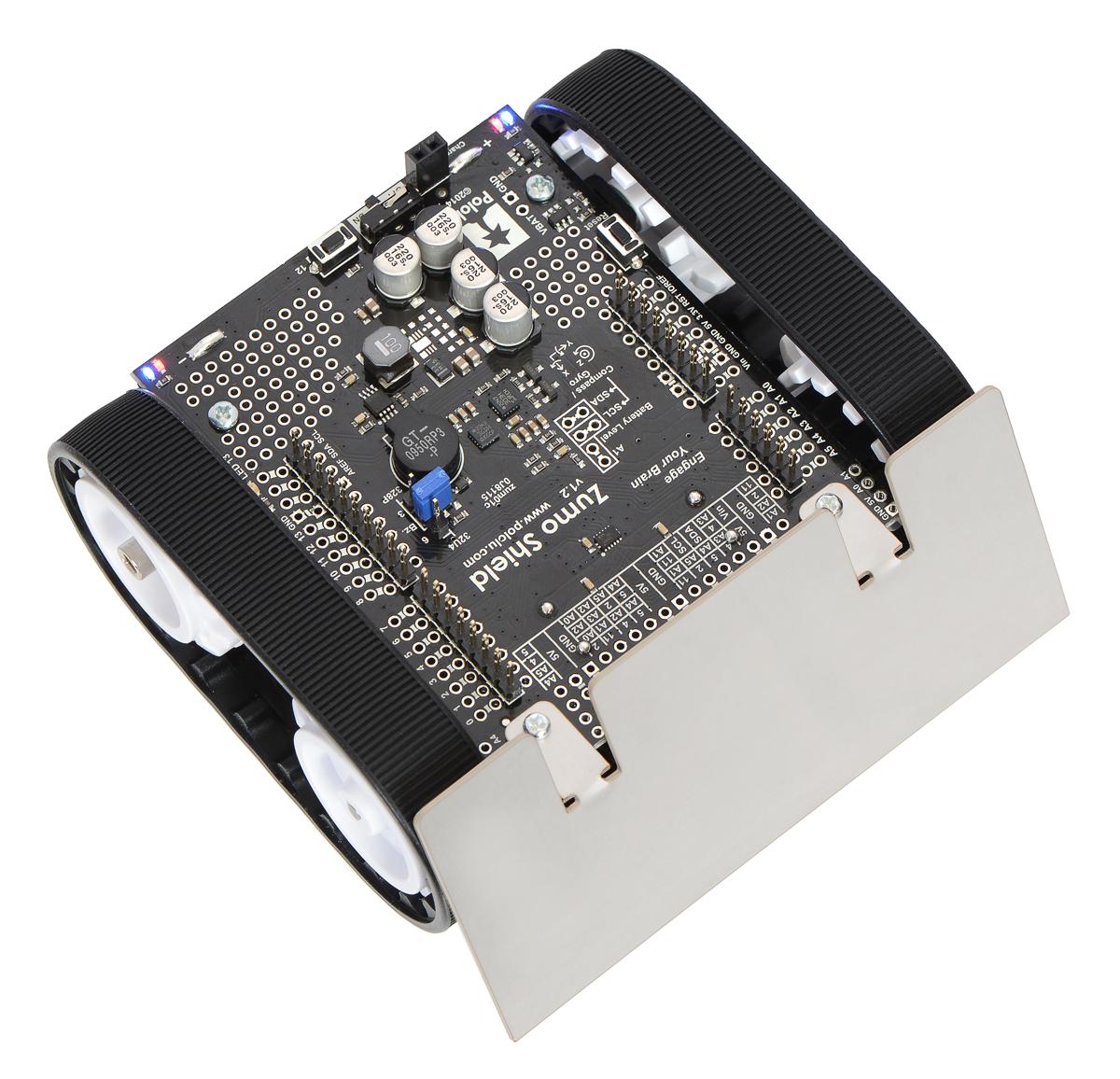 Robot sumo para arduino v ensamblado con motores hp
