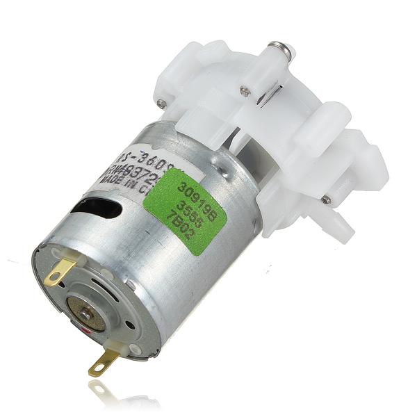 Mini bomba de agua dc 3 12v rs 360sh electronilab - Bombas de achique de agua ...