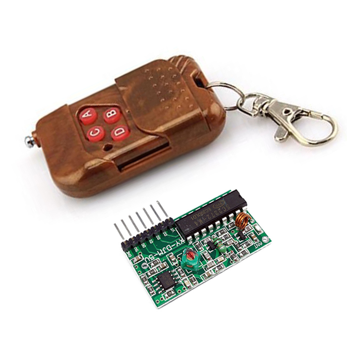 Módulo Rf 4 Canales Control Remoto Pt2262 2272 315 Mhz