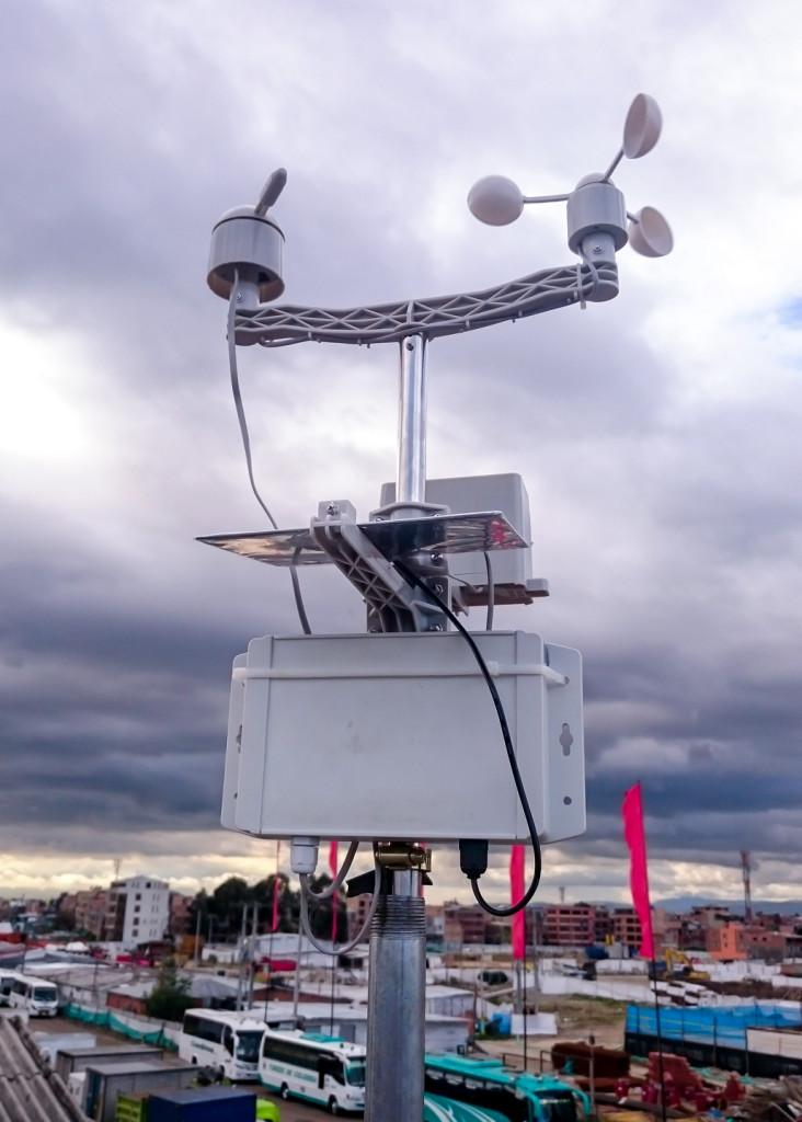 Ejemplo de montaje Estación meteorológica Electronilab