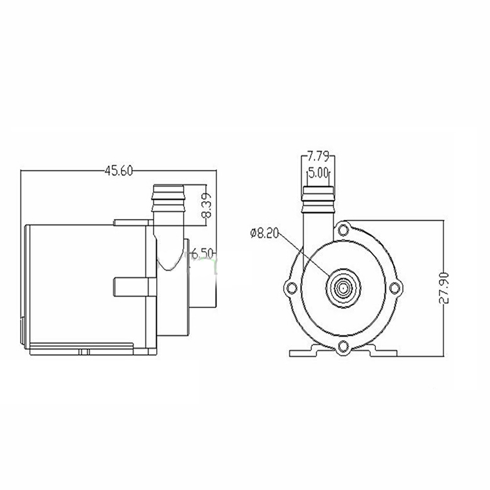 Mini Bomba de Agua Sumergible JT160 (4)