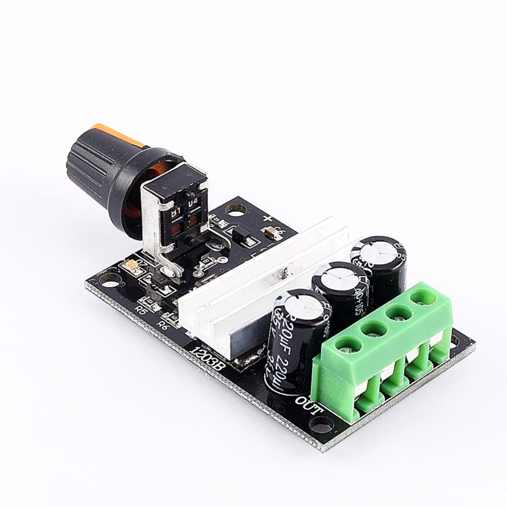 Controlador Pwm De Velocidad De Motor Dc 6v 28v 3a 13khz