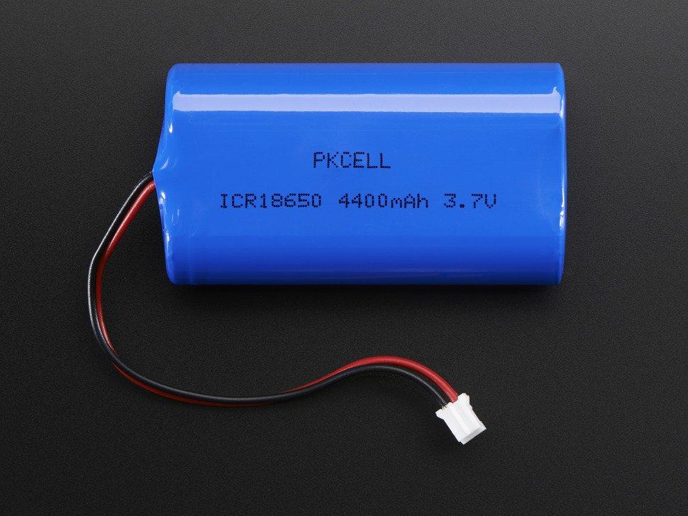 Batería LiPo de 4400 mAh 3.7 V - Electronilab