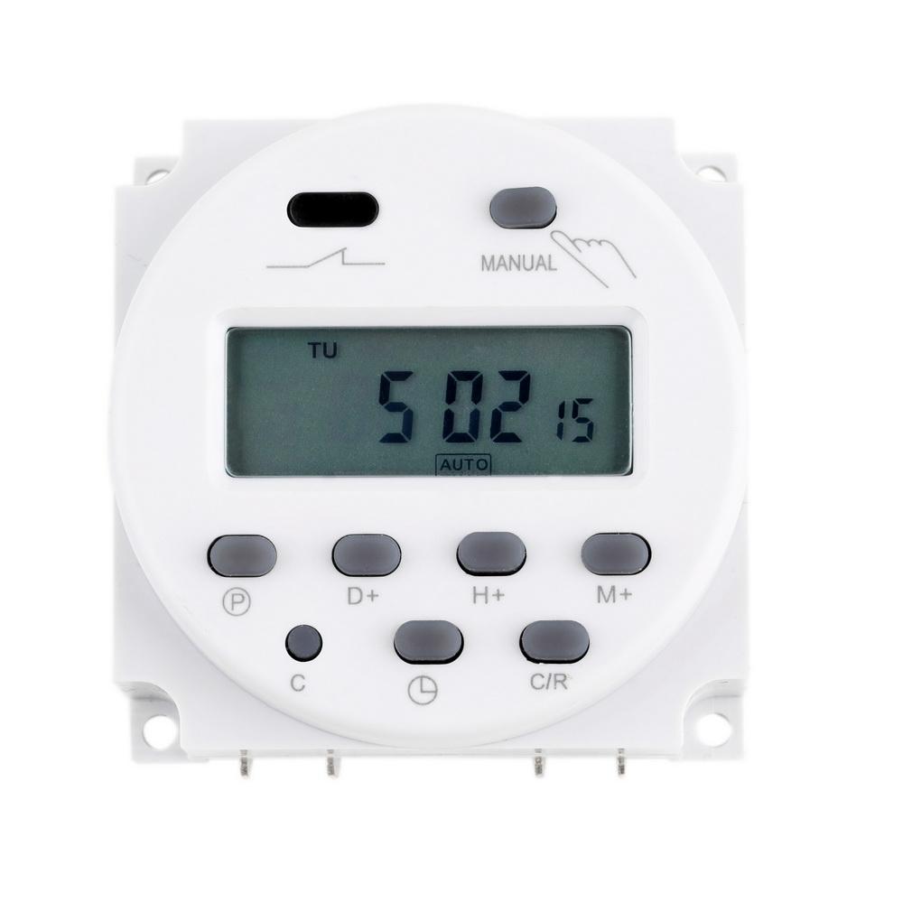 temporizador programable timer 12vdc electronilab. Black Bedroom Furniture Sets. Home Design Ideas