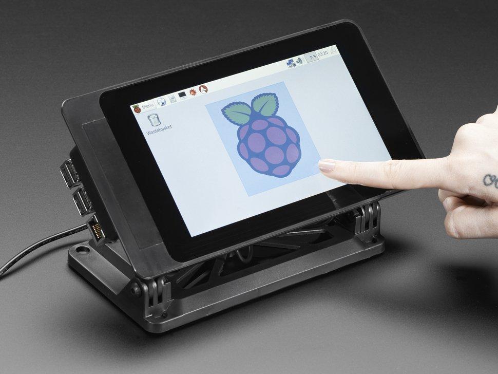Smartipi Touch Soporte Para Pantalla T 225 Ctil Raspberry Pi