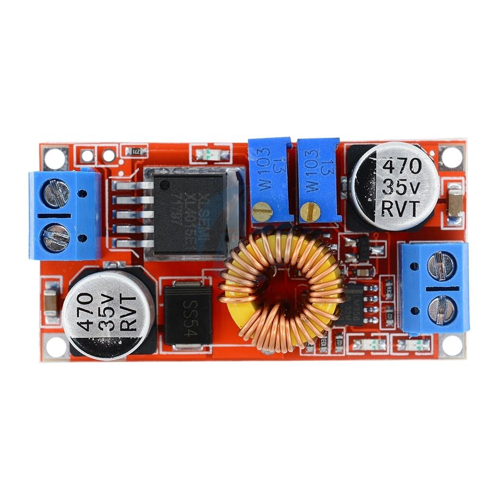Convertidor Dc Xl4015 Buck Reductor Cc Vc Cargador 5a Electronilab Step Down