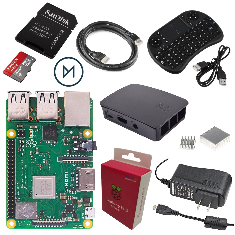 Pack Raspberry Modelo 3 B+ descuento barata chollo